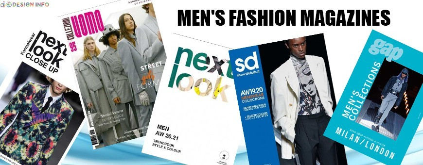 Menswear Fashion Magazines | Shop from over 100 Fashion Forecast Titles
