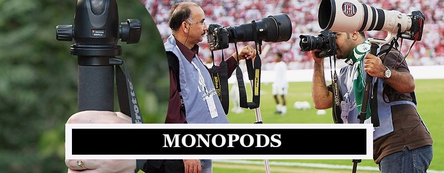 Manfrotto Monopod Stands | Buy Sturdy & Lightweight Monopods for DSLR at Best Prices Online