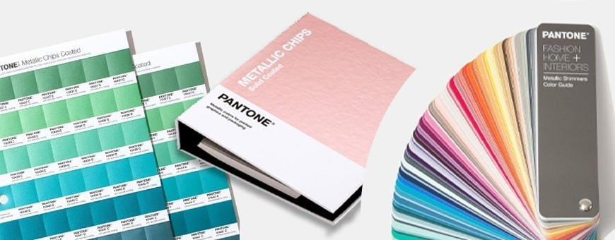 Pantone Metallic Color Shade Charts | Metallic Silver, Gold & More