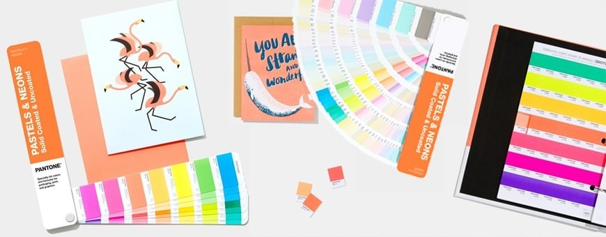 Pantone Pastel Color Shades | Official Pantone Neon Books Partner
