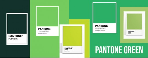 Pantone Green | Various Shades of Green Pantone Colors with Trends
