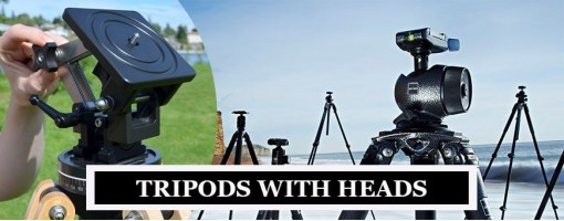 Tripod with Heads | Explore 2-Way, 3-Way, Ball Head, Geared Headed Tripods