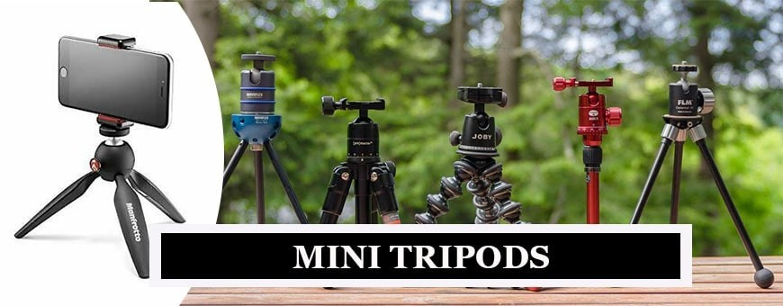 Manfrotto Mini Tripods | Hassle Free & Pocket Friendly Tripods | Joby Handypods & Tripods