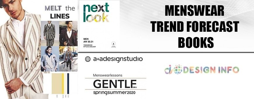 Mens Trend Forecast Ideas & Inspiration Books for Fashion & Design