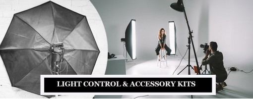 Photography Light Control & Accessory Kits, Filters & Diffusers for Camera Flashes