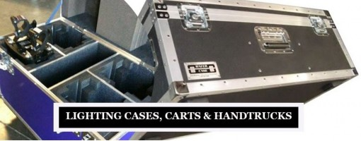 Photography Lighting Cases, Carts & Handtrucks for Lights Storage