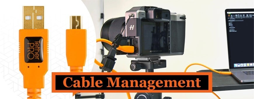 Cable Management | Tether Tools | Organized Cable Solutions