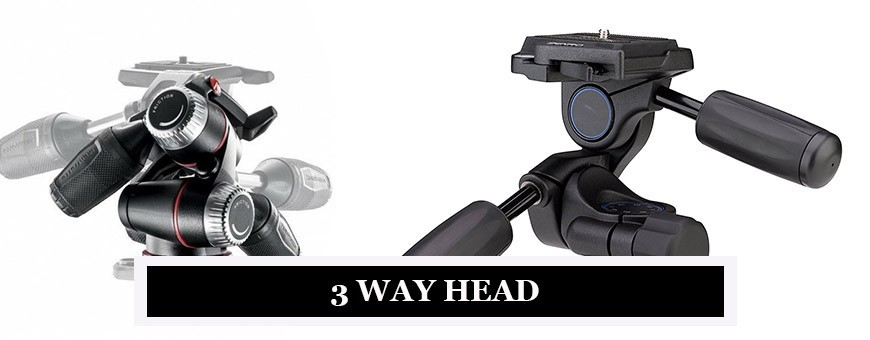Photography Manfrotto Tripods with 3-Way Heads | Pan Head & Tilt Head Camera Tripods