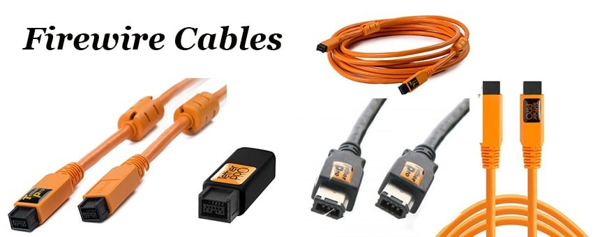 Firewire Cables | Tether Tools | Fast Transfer Rate