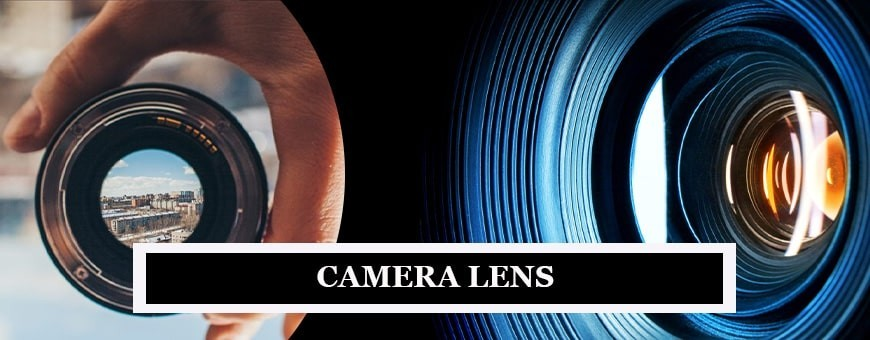 Camera Lenses for Photography & Videography