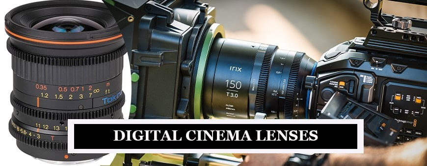 Best Lens for Cinematography | Buy Digital Cinema Lens at Best Prices