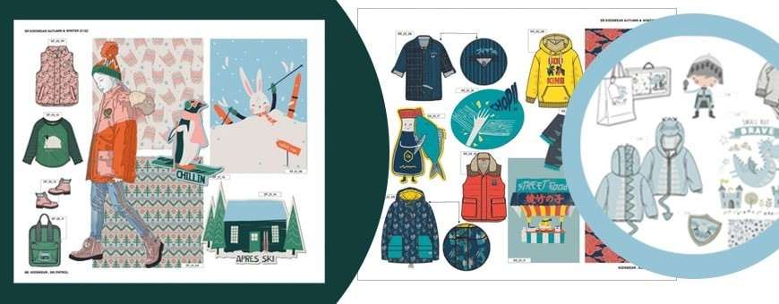 Kids Trend Forecast Concepts & Ideas Curated in Books for Fashion