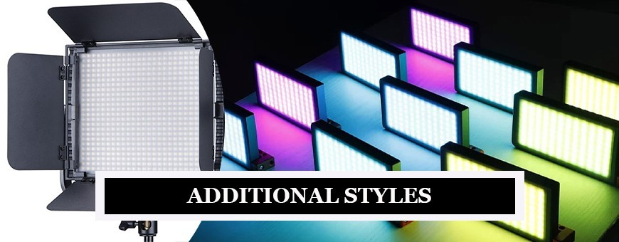 Special Photography LED Lights with Modern Styles for Professionals