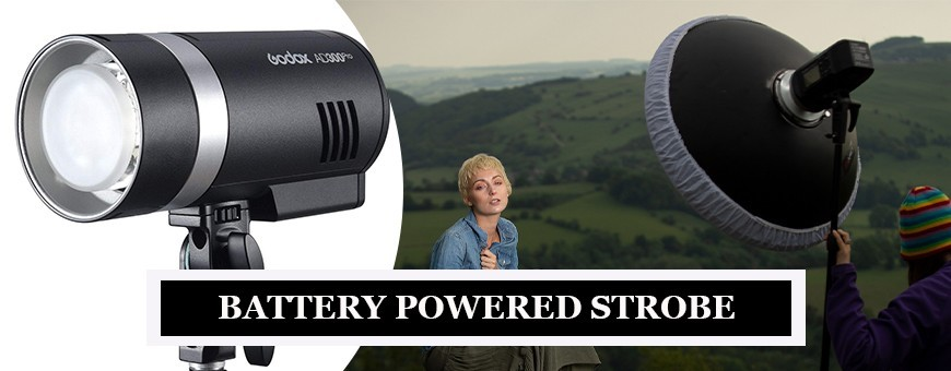 Battery Powered Strobe for strobe light photography