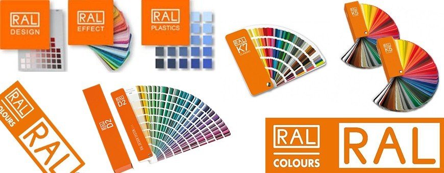 Classic RAL Colors K5 and K7 Shade Card