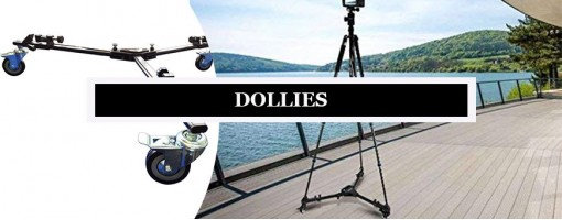 Professional Video Tripod Dollies | Manfrotto Dolly with Pneumatic Wheels