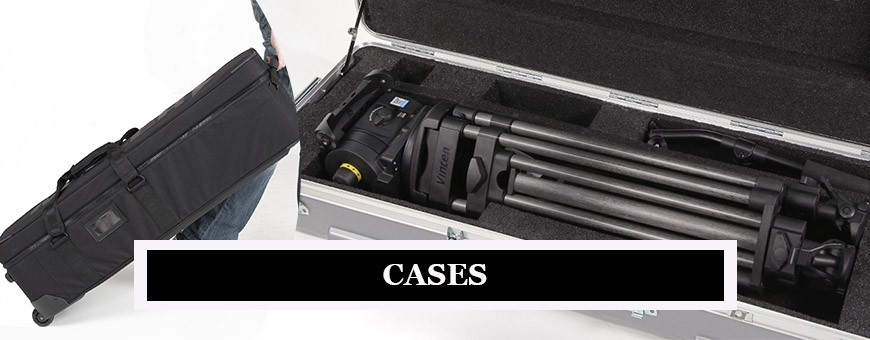 Professional Video Tripod Cases | Monopod Bags | Easy Travel Kit for Monopods