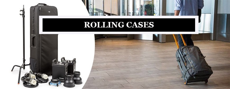 Photography Rolling Camera Bags | Explore Rolling Briefcases