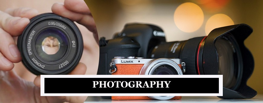Photography Camera & Lenses | Photography Equipment, Tools & Devices