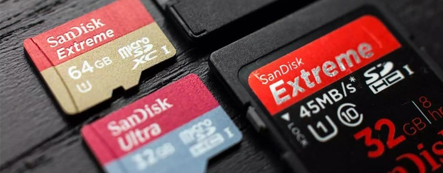 Shop Memory Cards, SD Cards, Micro-SD Cards for Action Camera & Drones