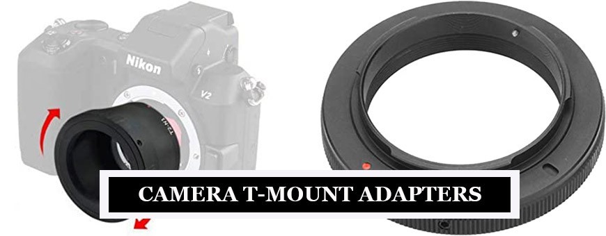 Camera T-Mount Adapters