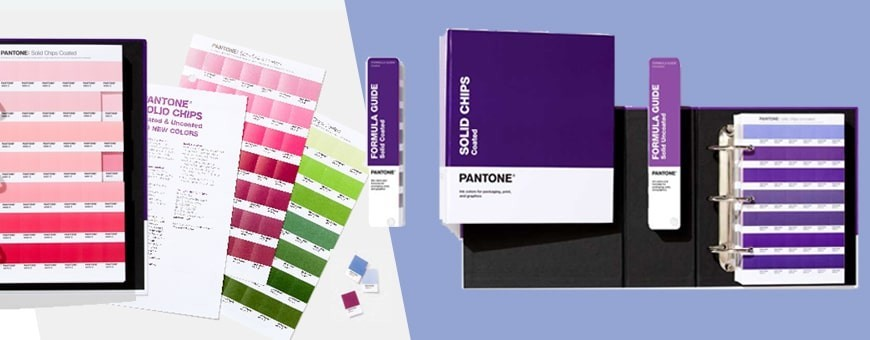Pantone Chip Books Coated & Uncoated | Pantone Journals
