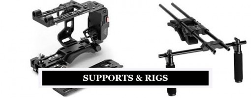 Professional Camera & Video Supports & Rigs
