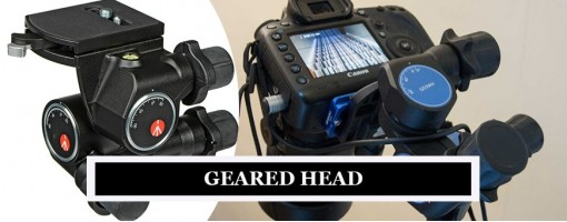 Geared Heads | Manfrotto Geared Tripod Heads | Compare with Benro