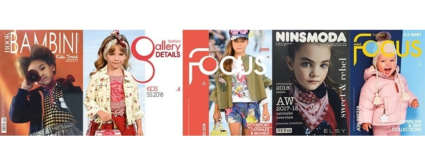 Kids Fashion Forecast Magazines for Garments & Apparels