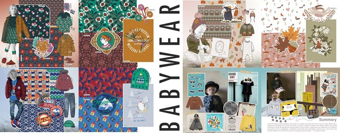 Kidswear Graphics and Logos Design Books - Fresh Collection of Patterns