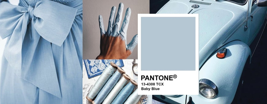 Pantone Baby Blue 13-4308 TCX Color Shade