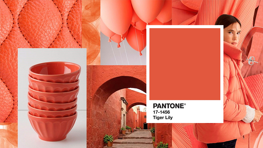 Pantone Color of the Year 2004: Tigerlily 17-1456