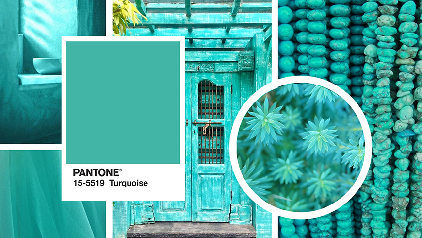 Pantone Color of the year 2010, Pantone Turquoise 15-5519