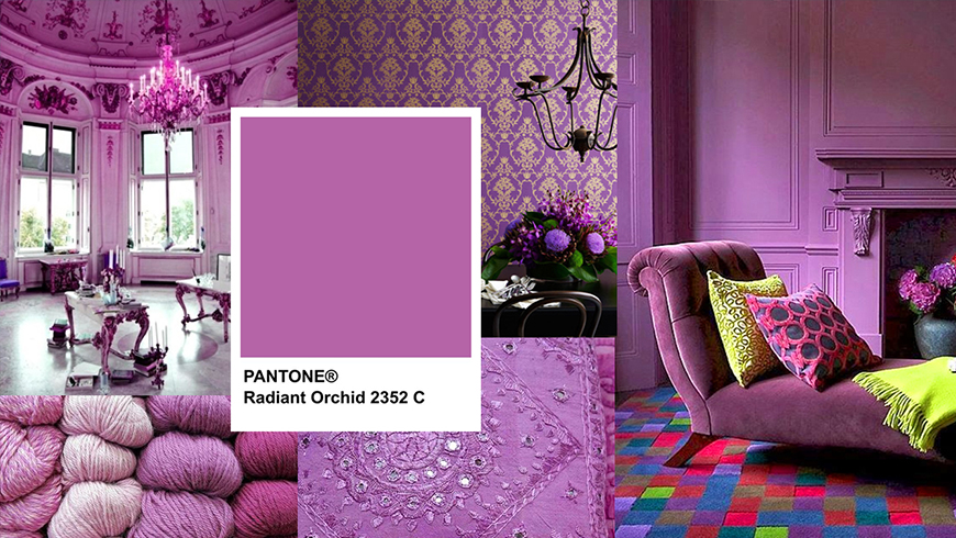 Pantone Color of the year 2014, Pantone Radiant Orchid 18-3224