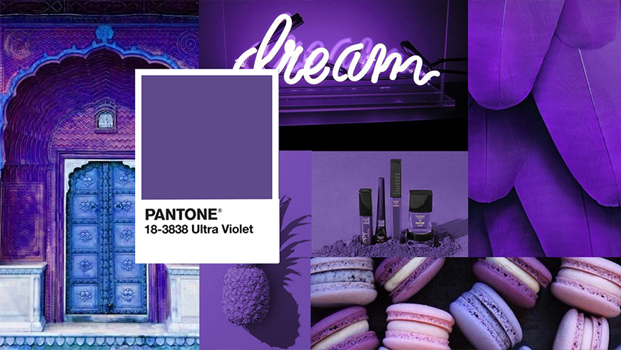 Pantone Color of the year 2018, Pantone Ultra Violet 18-3838