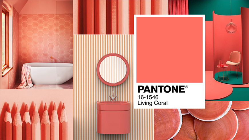 Pantone Color of the year 2019, 2019: Pantone Living Coral 16-1546