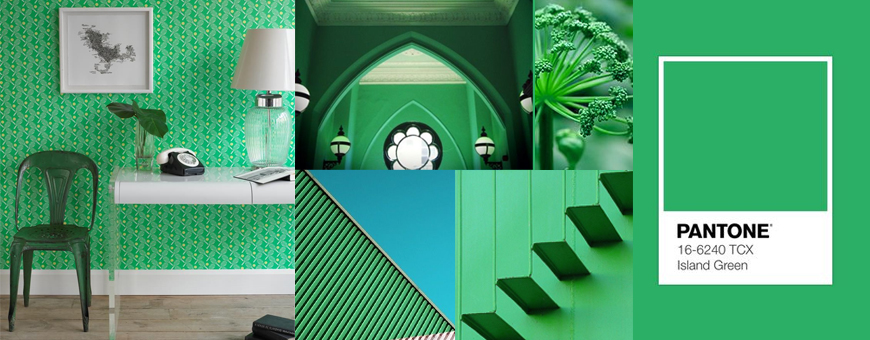 pantone green colors home furnishing, pantone green home, pantone green wall, pantone green paint, pantone green design