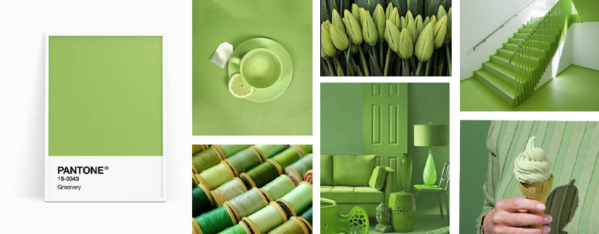 pantone green lifestyle, pantone green colors, pantone range of greens