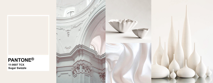 pantone white sugar color tone shade trend