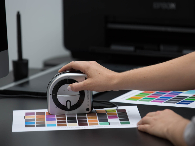 more colors profiling, easy accuracy of printers